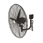 Wall Mounted fan, 60cm blades, for industrial use from ABL Distribution