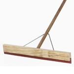 This is an image of Wooden Squeegee with Handle from ABL Distribution Pty Ltd