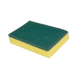 This is an image of Green- yellow Sponge Scourer from ABL Distribution Pty Ltd
