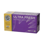 This is an image of Ultra Fresh Nitrile Gloves from ABL Distribution Pty Ltd