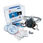 This is an image of 3M 6228 Welding Respirator Kit GP2 from ABL Distribution Pty Ltd
