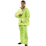 High Vis Rain Suit Jacket and Pant set from ABL Distribution Pty Ltd