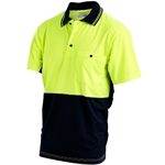 Hi-vis 2 tone Polo Shirt from ABL Distribution Pty Ltd