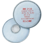 3M 2138 Gp3 Dust/fume/gas Vapour Filter
