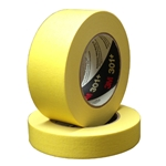 This is an image of 3M 301+ Performance Yellow Masking Tape from ABL Distribution Pty Ltd