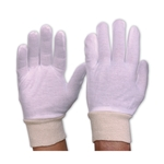 This is an image of Interlock Poly Cotton Liner With Knitted Wrist