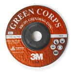 This is an image of 3M Green Corps Rigid Grinding Discs for Angle Grinding from ABL Distribution Pty Ltd