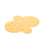 This is an image of 3M Hookit Gold Paper Discs to be used with 3M Orbital Sanders from ABL Distribution Pty Ltd