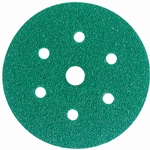 This is an image of 3M Hookit Green Paper Discs to be used with 3M Orbital Sanders from ABL Distribution Pty Ltd