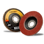 This is an image of 3M Cubitron fibre discs 967A for Angle Grinding from ABL Distribution Pty Ltd