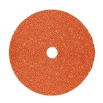 This is an image of 3M Cubitron fibre discs 987C for Angle Grinding from ABL Distribution Pty Ltd