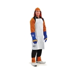 This is an image of Welders apron, adjustable, easy to fit from ABL Distribution Pty Ltd