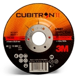 This is an image of 3M Depressed Centre Grinding Wheel is fast cutting and long lasting from ABL Distribution
