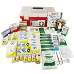 This is an image of Portable polypropylene hard case first aid kits WP1 from ABL Distribution Pty Ltd