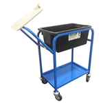 This is an image of picking trolley with clipboard, handy item for the warehouse from ABL Distribution Pty Ltd