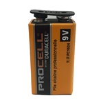 This is an image of 9V duracell battery, long life, dependable power from ABL Distribution Pty Ltd