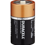 This is an image of D Duracell battery, long life, dependable power from ABL Distribution Pty Ltd