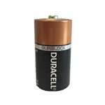 This is an image of C Duracell battery, lon life, dependable power from ABL Distribution Pty Ltd