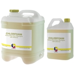 This is an image of chlorifoam heavy duty detergent with chlorine from ABL Distribution Pty Ltd