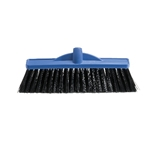 This is an image of 350mm broom head with extra stiff bristle, great for collecting large particles and heavy debris from ABL Distribution Pty Ltd