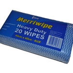 This is an image of heavy duty, edco blue wipe from ABL Distribution Pty Ltd