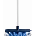 This is an image of Marrick budget broom with handle that is lightweight and easy to use from ABL Distribution Pty Ltd