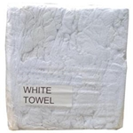 This is an image of White towel rags, great for anti-fouling in boats and where high absorbent properties are needed from ABL Distribution Pty Ltd