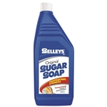 This is an image of Selleys liquid sugar soap cleaner removes grease and grime from most surfaces from ABL Distribution Pty Ltd