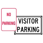 This is an image of Parking Signs