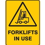 Forklift In Use