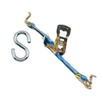 Multi Purpose Ratchet Tie Down Assembly With Hook