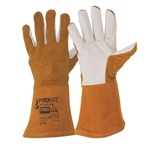 This is a image of premium tig glove, deerskin tig glove from ABL Distribution Pty Ltd