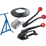 Basic Steel Strapping Starter Kit containing everything you need to start using steel strapping today.