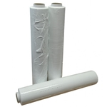 This is an image of White blown hand pallet wrap from ABL Distribution Pty Ltd