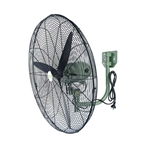 This is an image of Industrial wall mount fan, great for cooling warehouse. 3 speed fan with 750mm blade from ABL Distribution Pty Ltd