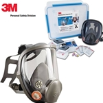 This is an image of 3M 6835 Asbestos Full Face Respirator Kits