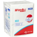 This is an image of Wypall X60 Wipe Precut