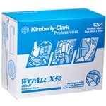 This is an image of  Wypall X50 White Pop Up Sheet