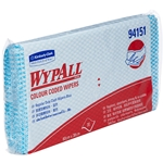 This is an image of 4151 Wypall Blue Wipes from ABL Distribution Pty Ltd