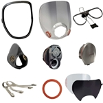 This is an image of 3M 6000 Series Respirator Spare Parts
