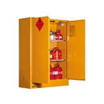 This is an image of 350L Flammable Liquid Storage Cabinet from ABL Distribution Pty Ltd